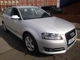 12 AUDI A3 TDI SPORTBACK SE 5 DOOR DIESEL £20 A YEAR ROAD TAX