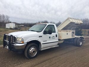 2002 Ford F-450 Pickup Truck SIDE DUMP BOX