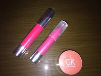 Clinique and CK Lipsticks and Lip gloss