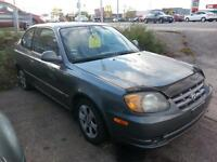 2004 Hyundai Accent Coupe   Very CLEAN