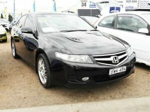 2007 Honda Accord Euro CL MY2007 Luxury Black 5 Speed Automatic Sedan