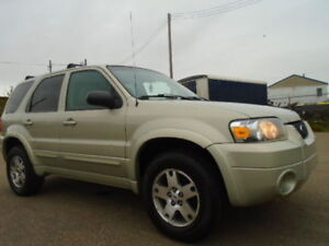 2005 Ford Escape LIMITED EDITION-4X4-LEATHER-SUNROOF--CLEAN