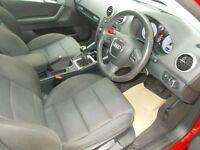 AUDI A3 1.6 TDI SPORT 5d 103 BHP (red) 2012