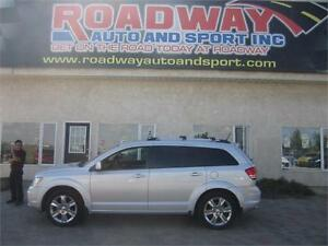2010 Dodge Journey R/T 7 Passenger, Nav, DVD, Roof, PST Paid!