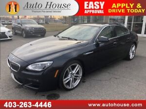 2014 BMW 640i M PACKAGE SEDAN XDRIVE AWD NAVIGATION BACKUPCAMERA