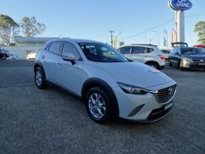 2015 Mazda CX-3 DK2W7A Maxx SKYACTIV-Drive White 6 Speed Sports Automatic Wagon Nowra Nowra-Bomaderry Preview