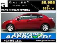 2009 NISSAN SENTRA 2.0L *EVERYONE APPROVED* $0 DOWN $89/BW