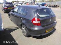BMW 1 SERIES 2.0 DIESEL M47 2006 5 DOOR BREAKING FOR SPARES TEL 07814971951