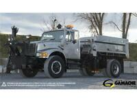 DÉNEIGEUSE / SNOW PLOW TRUCK INTERNATIONAL 4900 1993