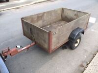 TRAILER 5FT X 3FT WITH LIGHTS