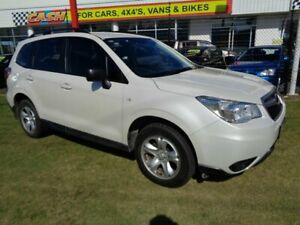 2013 Subaru Forester S4 MY14 2.5i Lineartronic AWD White 6 Speed Constant Variable Wagon Kippa-ring Redcliffe Area Preview