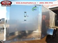 2018 7X18 ALL ALUMINUM SPORT NEO ENCLOSED TRAILER, GREAT PRICE! London Ontario Preview