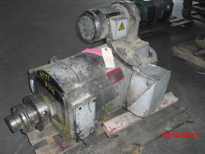 75 Hp Dc General Electric Motor 3500 Rpm 328at Frame Dpfv 500 V