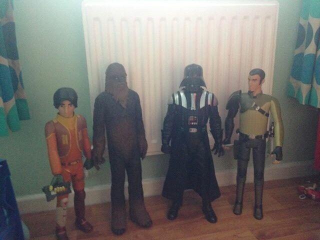 Stars Wars 4 20 inch characters