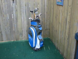 Men's Right hand Nicklaus golf clubs set