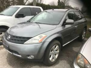 2006 NISSAN MURANO AWD|POWER GROUP|SUNROOF|ALLOYS|AUTOMATIC!