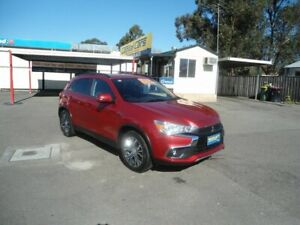 2017 Mitsubishi ASX XC MY17 XLS (2WD) Burgundy Wine Continuous Variable Wagon North Richmond Hawkesbury Area Preview