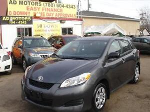 2013 TOYOTA MATRIX AUTO LOADED 62K-100% APPROVED FINANCING!