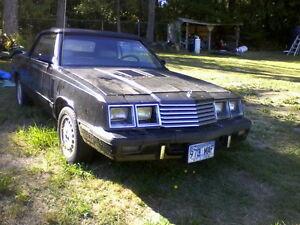 1985 Dodge 600ES Convertible