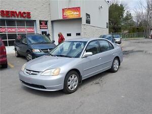 2002 Honda Civic LX-G SE (GARANTIE 1 ANS INCLUS)