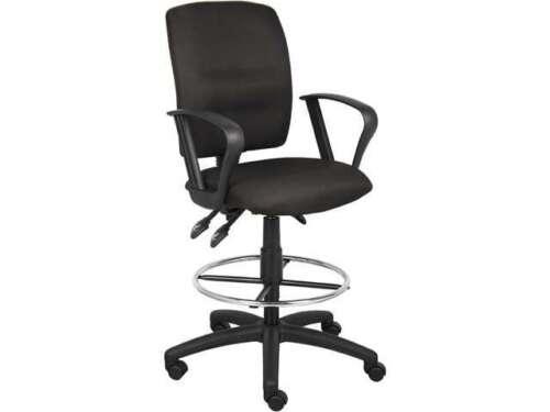 Boss Office Products B240 Bk Medical Stools Black