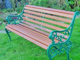 Restored antique Garden benches