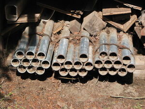"REDUCED! 30 Pieces New 8' Schedual ""80"" Galvanized Steel Pipe"