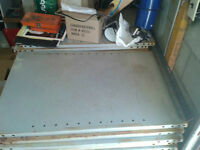 METAL SHELVES 2X3 SIZE GOOD CONDITION