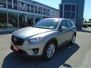 2014 Mazda CX-5 **NAV, HID LIGHTS & LEATHER!** LOADED GT AWD