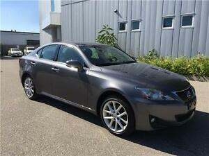 2012 LEXUS IS250 AWD 95KM AUTOMATIC ALLOYS