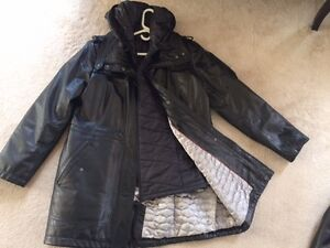 Danier Leather womens jacket almost brand new London Ontario image 1