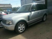 LAND ROVER RANGE ROVER VOGUE AUTOMATIC SAT NAV ALLOYS LEATHER 12 MONTHS MOT