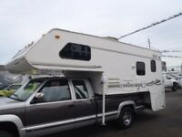 2001 Lance 1121 Truck Camper with Slide Out, 2 Awnings-Clean and Ready to Camp!!