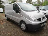 Renault Trafic 2.0dCi ,Sat Nav, 115,60 REG,SILVER 1 OWNER,NO VAT choice of 2