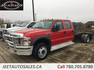 2008 Ford Super Duty F-450 DRW XLT Cab and Chassis