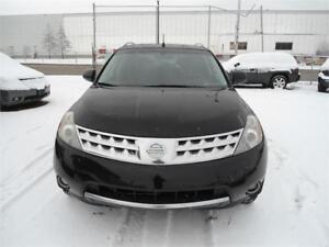 2007 Nissan Murano SE\Leather\Sunroof\Back-up Cam\AWD