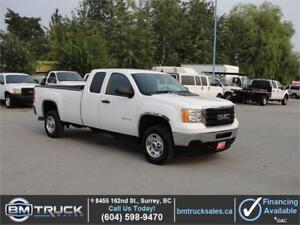 2011 GMC SIERRA 2500HD EXT CAB LONG BOX DURAMAX DIESEL