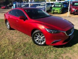 2016 Mazda 6 6C MY15 Touring Red 6 Speed Automatic Sedan