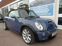 Mini Mini 1.6 ( Chili ) Cooper S Convertible S/H NAV Good miles 82k p/x