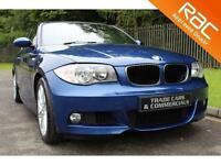 2008 08 BMW 1 SERIES 2.0 120D M SPORT 2D 175 BHP DIESEL