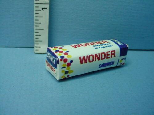 "Miniature Bread Loaf ""Squishy"" #54116 1/12th Non-Edible Hudson River 1/12th"