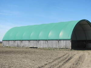 USED COVERALL TARPED BLDG ( 40'X80')