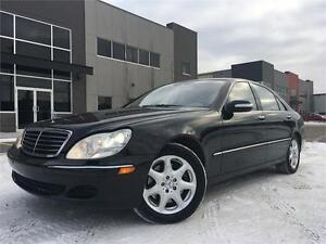 2004 Mercedes S500 4MATIC AWD = 187K = NAV-LEATHER-SUNROOF