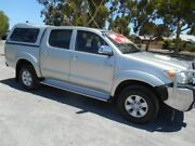 2008 Toyota Hilux KUN26R 08 Upgrade SR5 (4x4) Silver 5 Speed Manual Dual Cab Pickup Prospect Prospect Area Preview