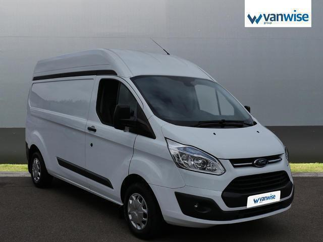 2016 Ford Transit Custom 2.2 TDCi 125ps Low Roof Trend Van Diesel white Manual