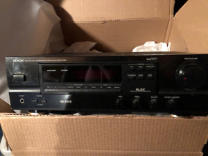 Denon reciever & CD player 1990's--any offer