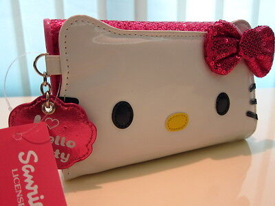 Hello Kitty Sparkling Design Long Wallet coins bag pocket Purse on Rummage