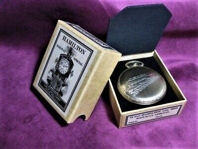 Hamilton,992B Railway Special ,Pocket Watch Shipping / Storage box