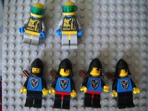 Lego Space and Castle minifigures