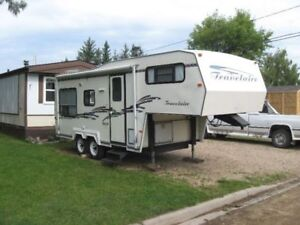 22 FOOT TRAVELAIRE 5TH WHEEL CAMPER TRAILER